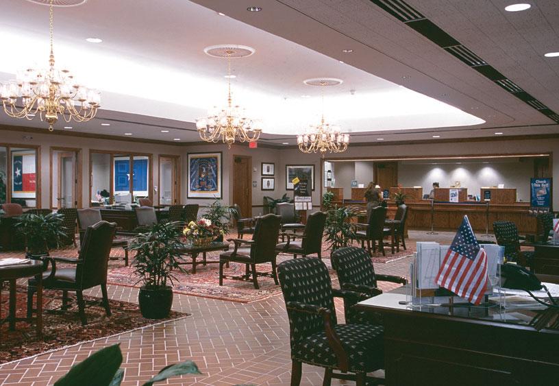 Bank Lobby