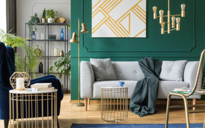 Accent Walls are Making a Come Back